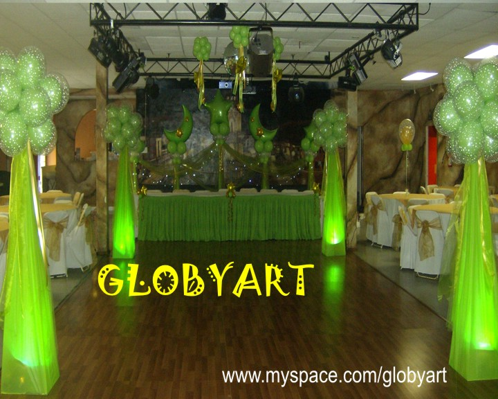 Members area for Balloon decoration los angeles