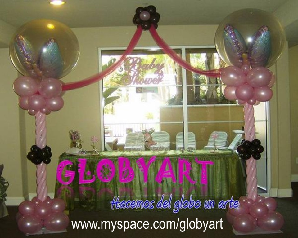 Balloons in los angeles balloon decor in los angeles for Balloon decoration classes