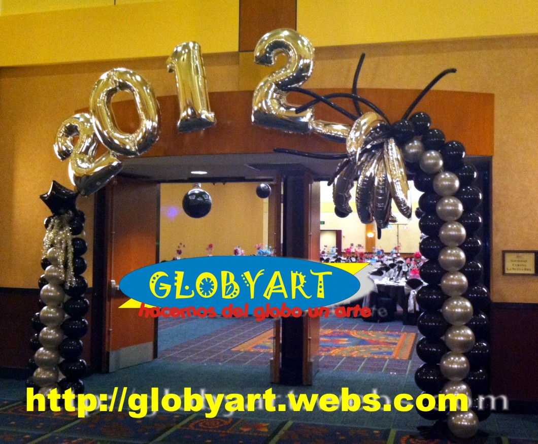 Marriott burbank ca convention center globyart balloons for Balloon decoration los angeles